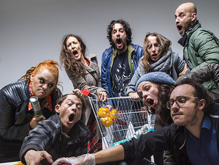 ANNULLATO - SUPERMARKET. A modern musical tragedy