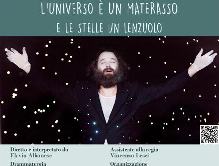 L'UNIVERSO È UN MATERASSO E LE STELLE UN LENZUOLO
